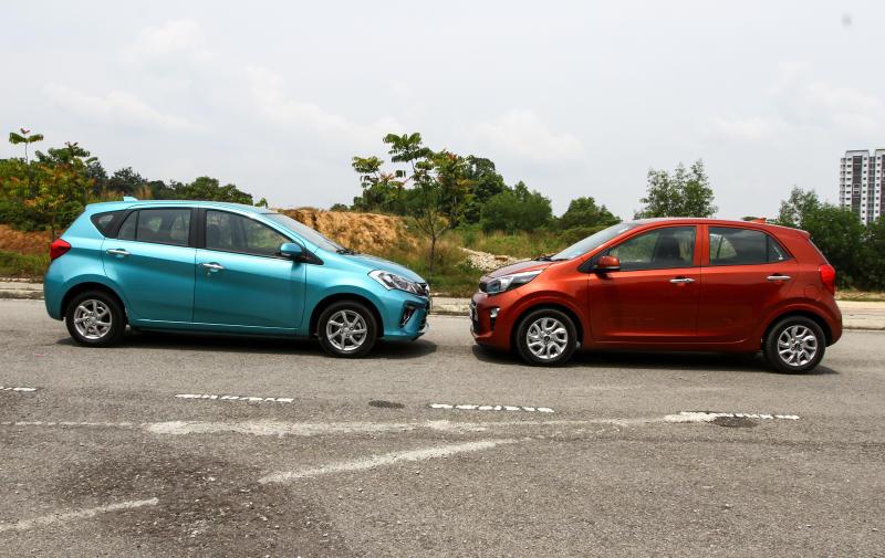 2018 Perodua Myvi vs Kia Picanto (3)
