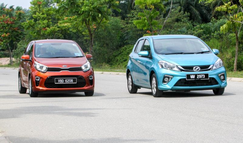 2018 Perodua Myvi vs Kia Picanto (5)