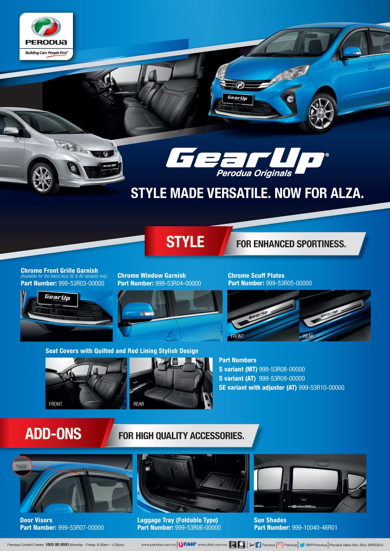 Perodua Alza GearUp brochure - 01