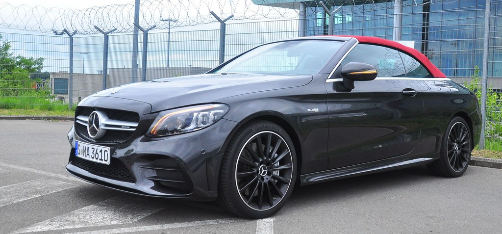 The AMG C 43 Cabriolet.