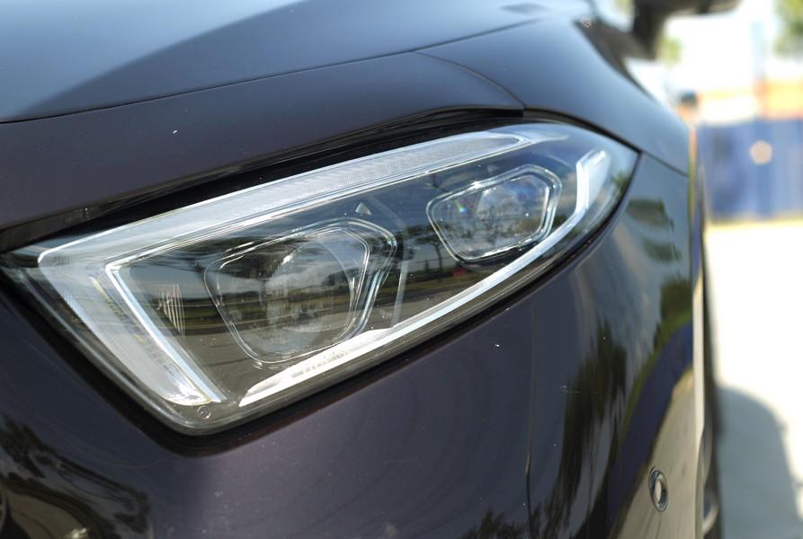 Photoshoot of Mercedes CLS 450 at Rawang. AZMAN GHANI / The Star
