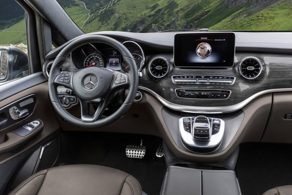 Die neue Mercedes-Benz V-Klasse The new Mercedes-Benz V-Class