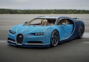 Bugatti Chiron (Lego life-size) - 02