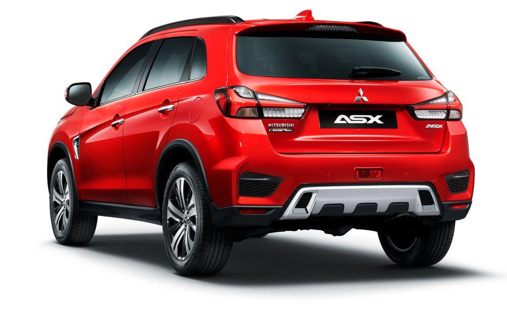 New 2020 ASX - white background rear