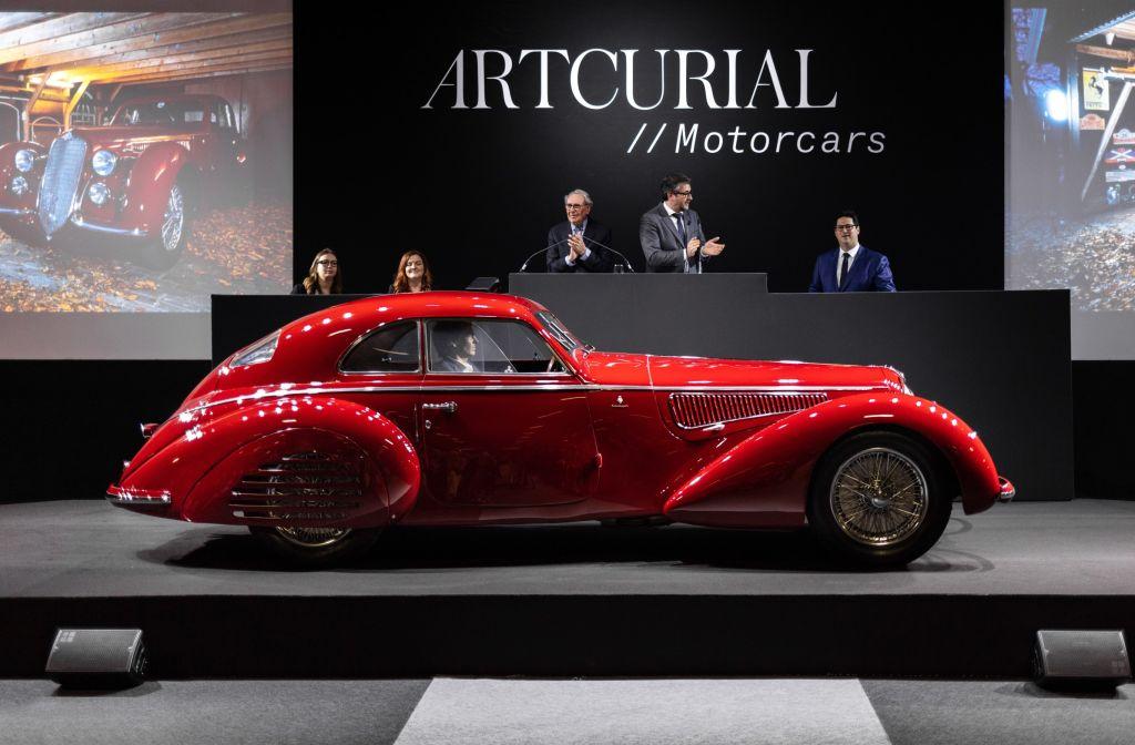 Alfa Romeo Sells For Over 16 Million At Paris Auction Carsifu