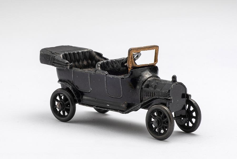 World's first miniature die-cast model car: Ford Model T (1914, U.S.).