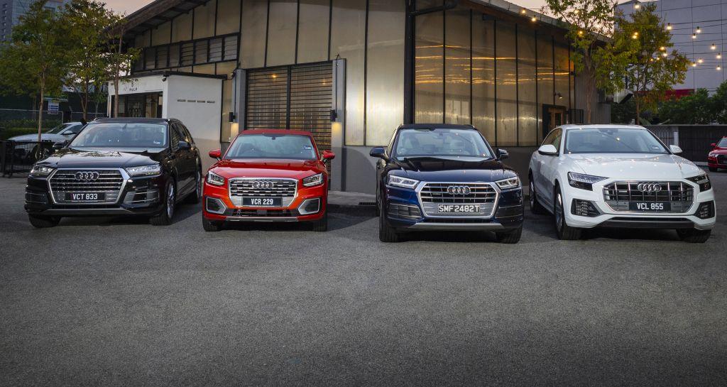 Four Suvs To Drive In One Day Audi Q2 Q5 Q7 And Q8 Carsifu