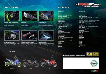 Benelli RFS150i (brochure) - 02