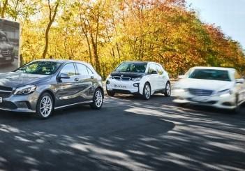 BMW Group und Daimler AG planen nächste Schritte für gemeinsames Mobilitätsunternehmen. Zuständige Wettbewerbsbehörden genehmigen Fusion der Mobilitäts-Angebote.BMW Group and Daimler AG plan next steps for joint mobility company. Competition author
