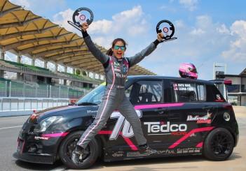 Leona Chin (Team Tedco Racing) Malaysia Championship Series 2019 - 02
