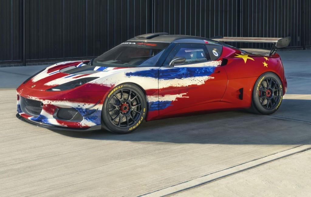 207a524ddbb1 Auto Shanghai 2019  Lotus Evora GT4 Concept racer