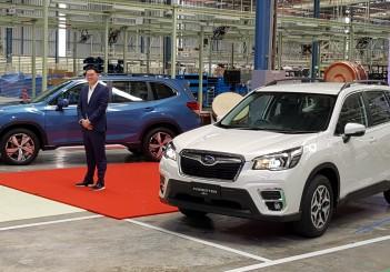 Tan Chong Subaru Automotive Thailand assembly plant - 09