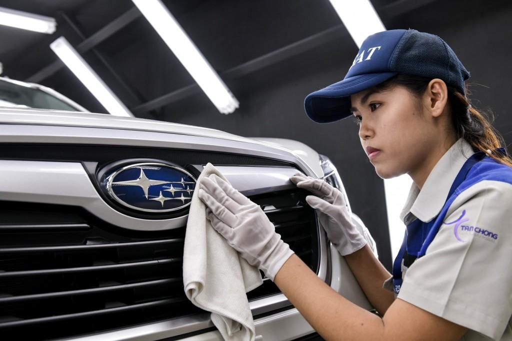 Tan Chong Subaru Automotive Thailand assembly plant - 15