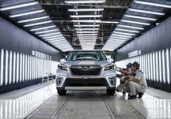 Tan Chong Subaru Automotive Thailand assembly plant - 18