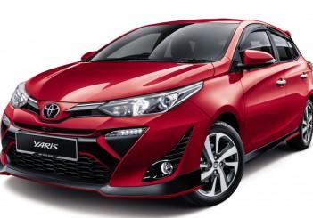 Toyota Yaris - 66 Red Mica Metallic