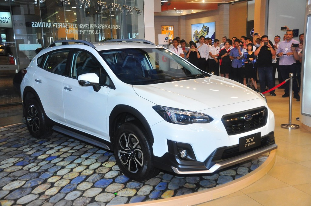 New Subaru Xv >> Subaru Xv Gt The Subaru Xv Gt Edition Is Now In The
