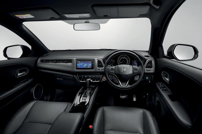 All New Black Interior For Honda Hr V Rs Carsifu