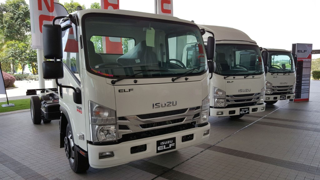 Isuzu Malaysia launches new Elf trucks with Smoother AMT