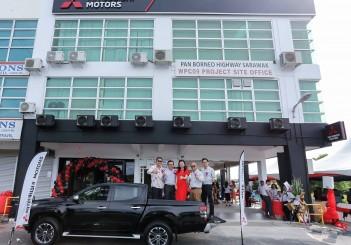 Facade of Auto Pacifica, Bintulu, Sarawak