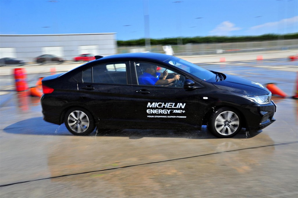 Honda City wioth Michelin Energy XM2+ - 11
