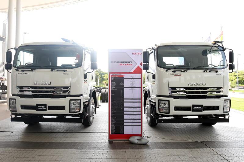 Isuzu Malaysia launches 19-tonne Forward commercial truck