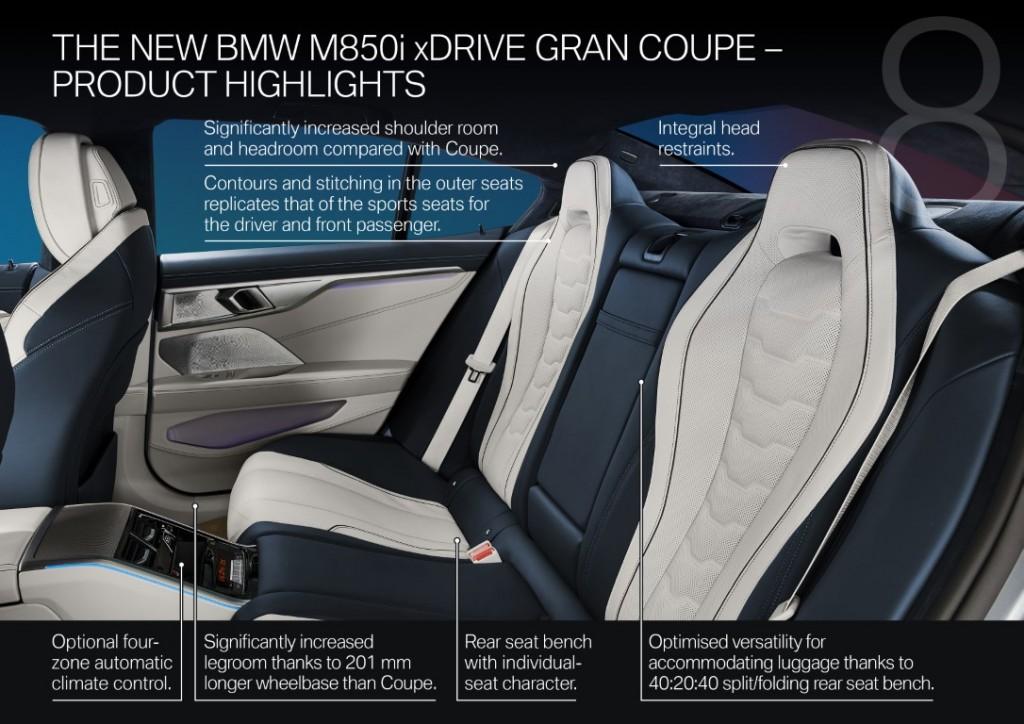 BMW releases details of 4-door 8 Series Gran Coupe ahead of