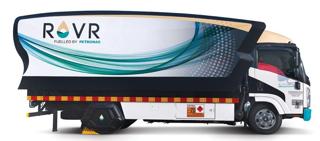 ROVR B2C 3000-liter side view