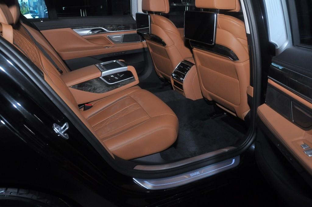 BMW 740Le xDrive (G12) - 53 Black Sapphire