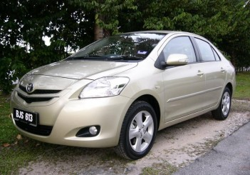 The 2008 second-generation Vios.