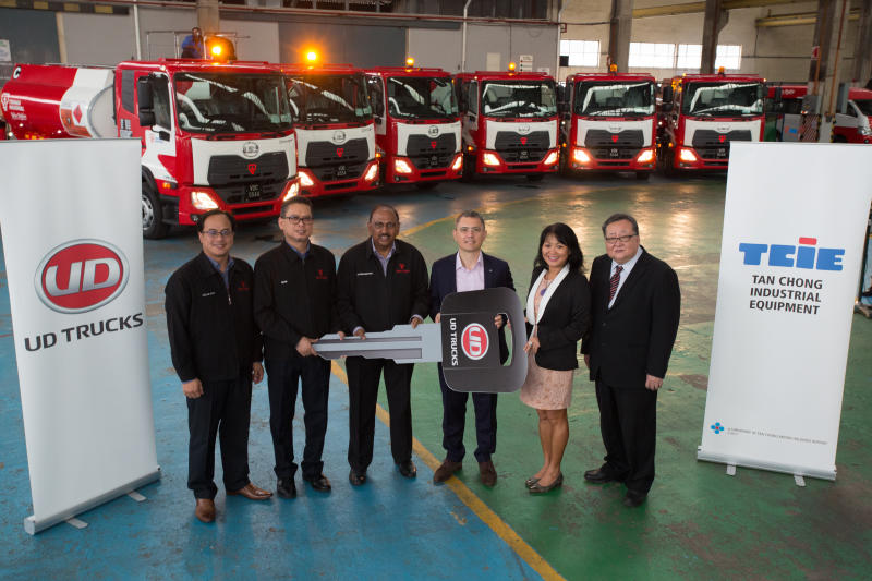 More UD Trucks added to TNB fleet | CarSifu