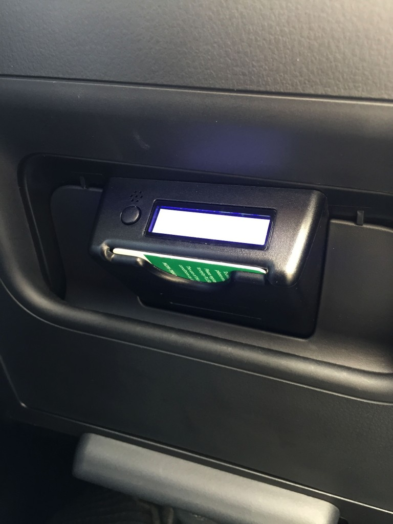 Built-in toll card reader_Perodua Aruz Generation 1_2019