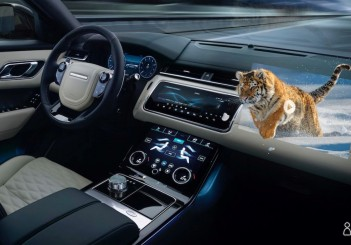 Jaguar Land Rover immersive 3D in-car experience with heads-up display research - 02
