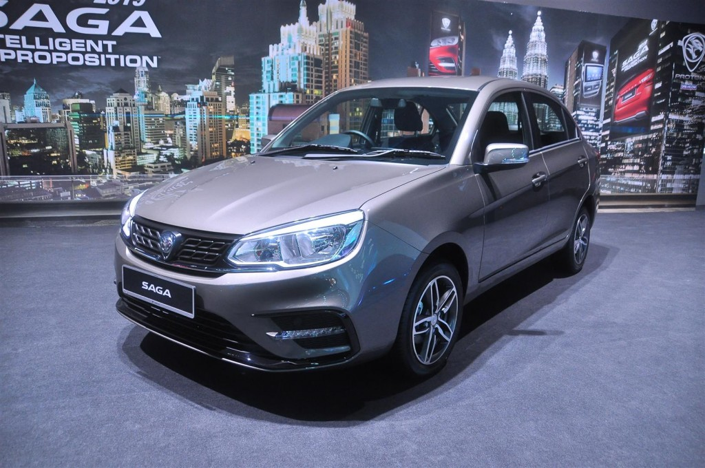 Proton Saga 1.3 Premium AT in Jet Grey - 01