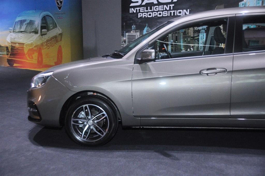 Proton Saga 1.3 Premium AT in Jet Grey - 07