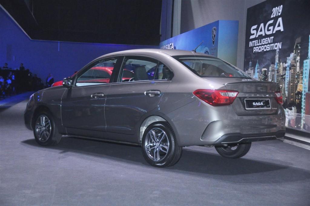 Proton Saga 1.3 Premium AT in Jet Grey - 20