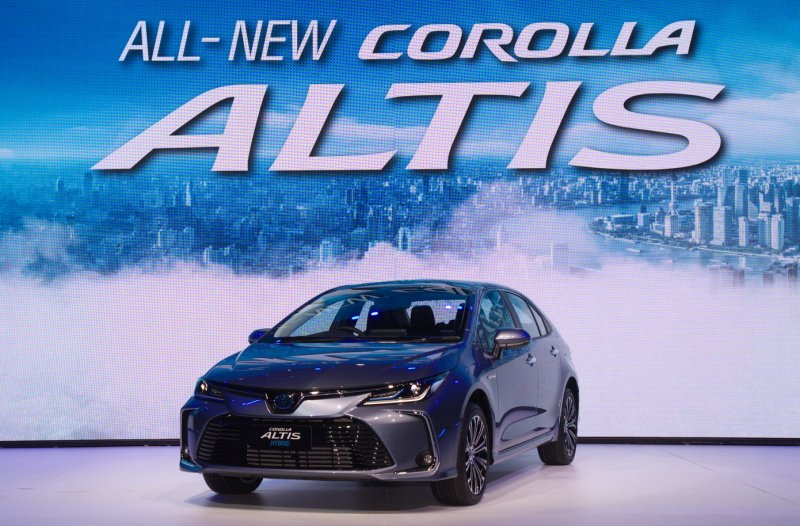 2020 12th-generation Toyota Corolla Altis (11)
