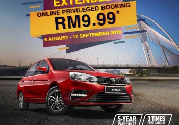 Online booking 2019 Proton Saga NEW00 (Custom)