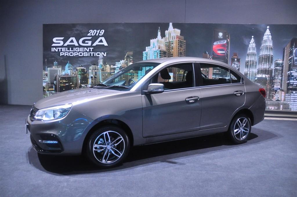 Proton Saga 1.3 Premium AT in Jet Grey - 06