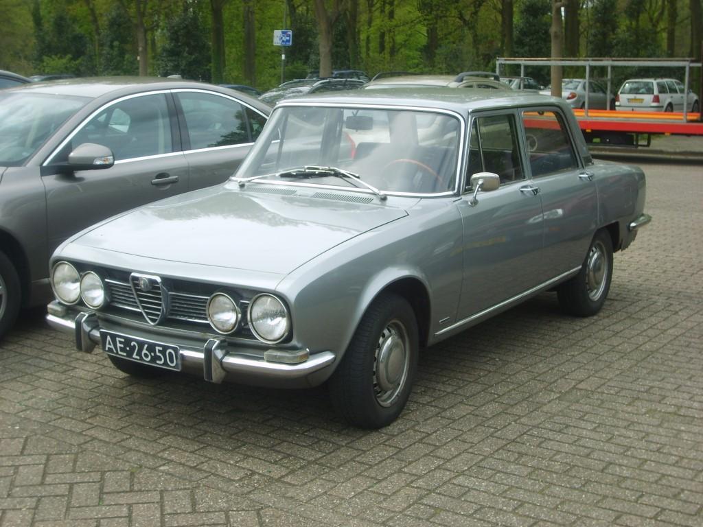 1968 Alfa Romeo 1750 Berlina