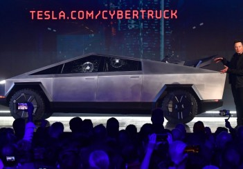 Elon Musk's Tesla unveils electric pick-up 'Cybertruck'