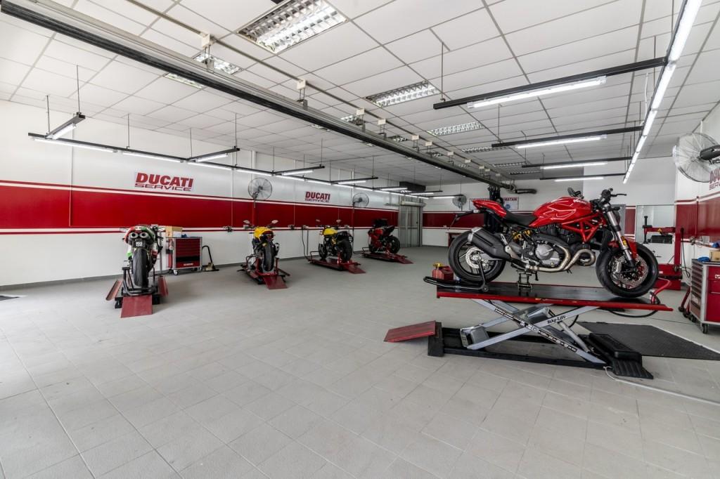 Ducati Malaysia flagship store service centre