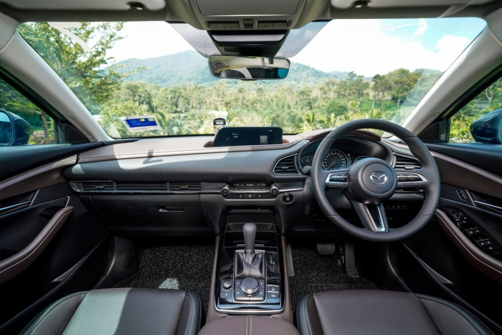 Mazda CX-30 drive (10)