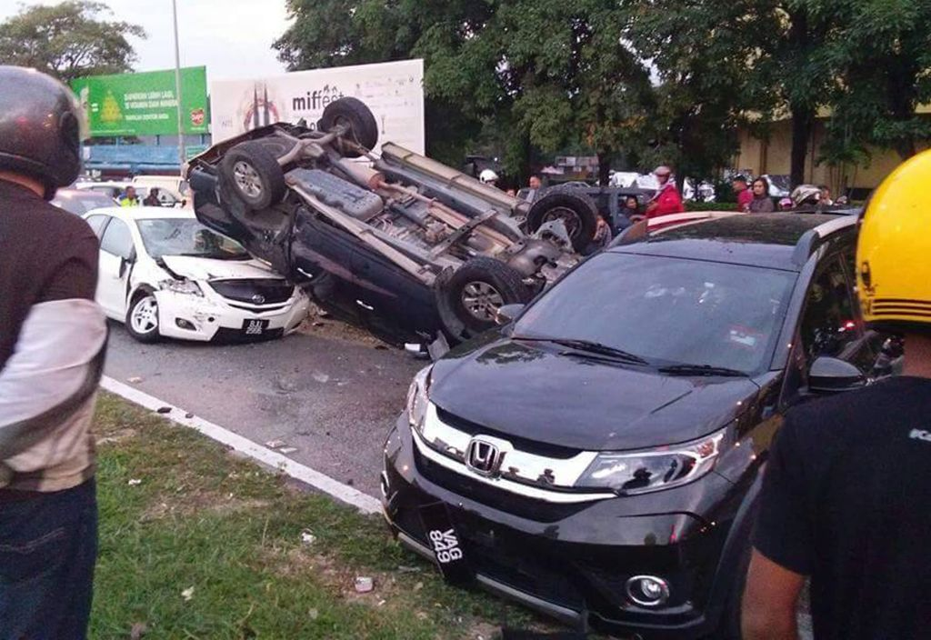 Number of accidents have also increased.
