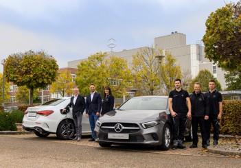Produktion der A-Klasse Plug-in-Hybrid im Mercedes-Benz Werk Rastatt erfolgreich gestartetSuccessful Production Launch of the A-Class Plug-In Hybrid at the Mercedes-Benz Rastatt Plant