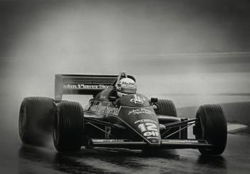 Ayrton Senna racing in the Estoril GP 1985 Credit_Classic Team Lotus