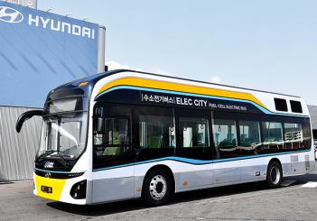 Hyundai FCEV bus