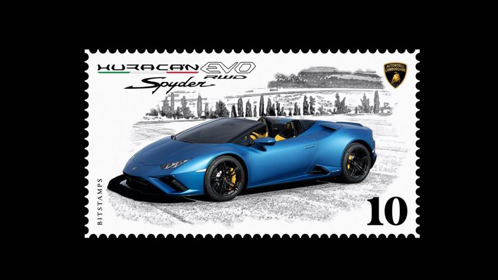 Lamborghini Huracan EVO RWD Spyder - 03 Stanp