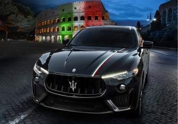 Maserati Levante with Trofeo Livery