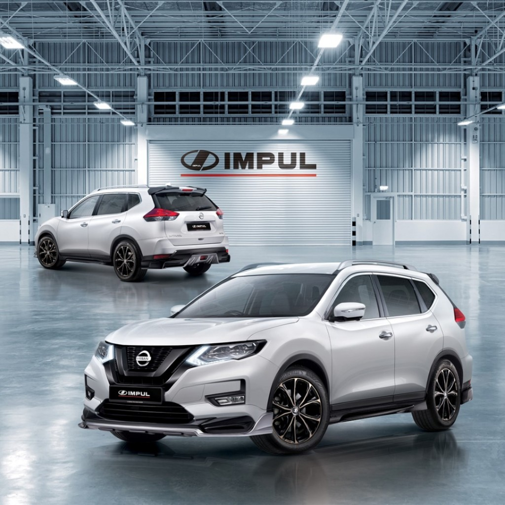 Make Your Nissan X Trail Look Sporty With New Impul Kit Carsifu