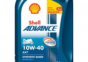 Shell Advance AX7 10W40 Pack - 02